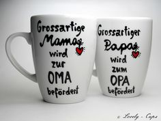 du wirst opa geschenk f r papa opa geschenk tasse opa. Black Bedroom Furniture Sets. Home Design Ideas