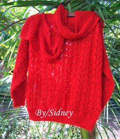Blusa lace red