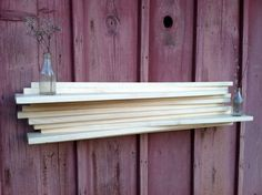 Hand-Crafted Poplar Shelf from Bitter Suite in Florence, AL