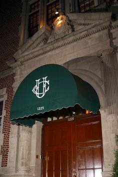 Front Entrance of the University Club. #universityclubofportland #uclubpdx #portland #oregon