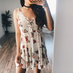 Camila Floral Baby Doll Dress – ootdfash