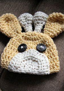 crochet giraffe hat no pattern