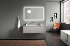 A series of elegant and minimal CGI bathroom sets with added beauty from the breathtaking landscapes of Switzerland. Exterior Design, Interior And Exterior, 3d Architectural Visualization, Contemporary Bathrooms, Bathroom Sets, Minimalism, Bathtub, Mirror, Diving