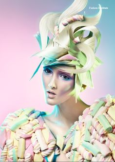 Candy Girls - Photographed by AGNIESZKA DOROSZEWICZ http://institutemag.com/2012/08/02/candy-girls/