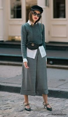 Street Style - how to wear a belt bag #beltbag #style