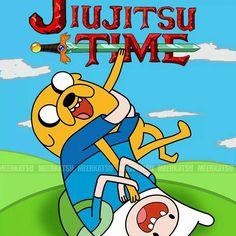 Jiu jitsu time!