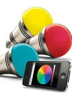 Using a smartphone or tablet, you can control the iPhone/Android Controlled Lighting System; capable of putting on a mesmerizing light show and the perfect gift for the tech lover in your life.