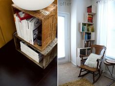 15 Easy and Wonderful DIY Bookshelves ideas 10