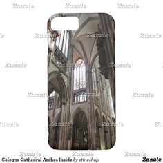 Cologne Cathedral Arches Inside Case-Mate iPhone Case Unique Iphone Cases, Iphone 7 Cases, Beautiful Architecture, Roman Catholic, Arches, Cologne, Ipad Case, Gifts For Dad, Cathedral
