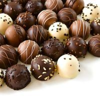 Assorted Chocolate Truffle Candies Stock Photo (Edit Now) 19054333 Chocolate Wrapping, Chocolate Factory, How To Make Chocolate, Delicious Chocolate, Chocolate Recipes, Oreo Truffles, Chocolate Truffles, Some Recipe, Lawn