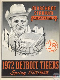 Detroit Tigers, Spring Training....1972