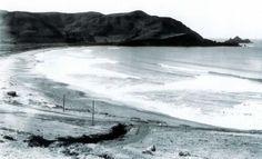 Linda Mar Beach, way back when.