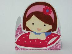 Forminha personalizada Tema Festa do Pijama    Confeccionada em couchê 210g    tamanho da base 4cm x 4cm  altura 3 cm