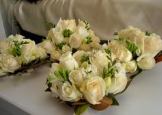 Wedding Bouquet Rose and Freesia's