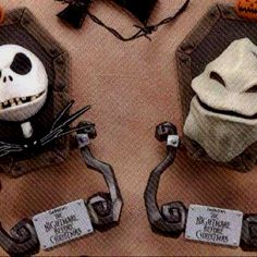 Nightmare Before Christmas Door Knockers. One word...awesome!
