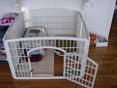 small dog crates   Puppy and Small Dog Crate Training Set up   KC Dog Guy