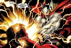 Red Hulk Vs. Thor