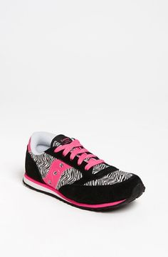 One of the coolest sneakers for lil girls! Saucony 'Jazz - LowPro' Sneaker (Toddler & Little Kid) available at #Nordstrom