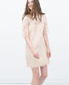 ZARA - NEW THIS WEEK - LACE DRESS