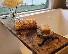 Farmhouse Bathtub Tray