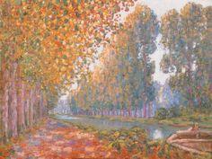 """Francis PICABIA """"La Canal de Moret, effet d'automne"""""""