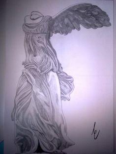 #Nike of #Samothrake: the greatest masterpiece of Hellenistic sculpture.