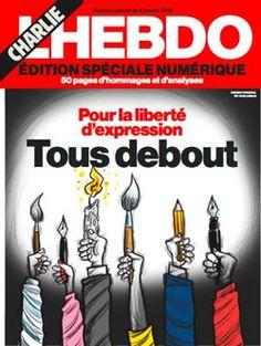 Charlie Hebdo: Notre édition spéciale   L'Hebdo -Svizzera - 7 gennaio - disegno di Hani Abbas, Siria §