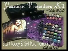 Younique Presenter Starter Kit - $99 to make your dreams come true. Free website, get paid daily, no waiting til next month. So what are you waiting for? Come on and join my team in 2014! www.youniqueproducts.com/sherricole