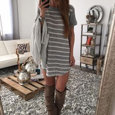 The Abby Tshirt Dress | OHM BOUTIQUE