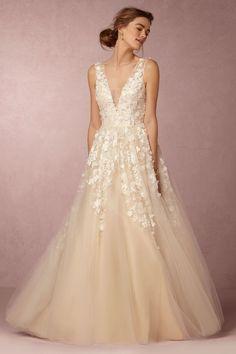 BHLDN Ariane Gown in Bride Wedding Dresses Ball Gown at BHLDN #weddingdress