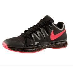 Nike-Roger Federer Zoom Vapor 9,5 Tour black 631458-060 Nike Zoom, Sneakers Nike, Shoes, Black, Tennis, Nike Tennis Shoes, Zapatos, Black People