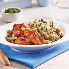 On sort la mijoteuse! 20 recettes à essayer Freezer Meals, Cobb Salad, Crockpot, Slow Cooker, Food And Drink, Favorite Recipes, Beef, Chicken, Nutrition