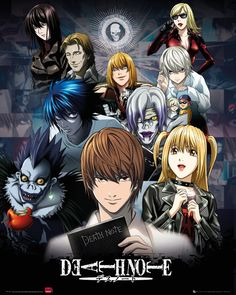 Death Note - Collage - Official Mini Poster