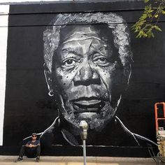 "Brad Robson, ""MorganFreeman"", in Los Angeles, California, USA, 2017"