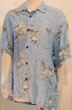 """""""MONTAGE TROPICS"""" SIZE XL BUTTON FRONT BLOUSE - PLEASE SEE ALL PICTURES"""