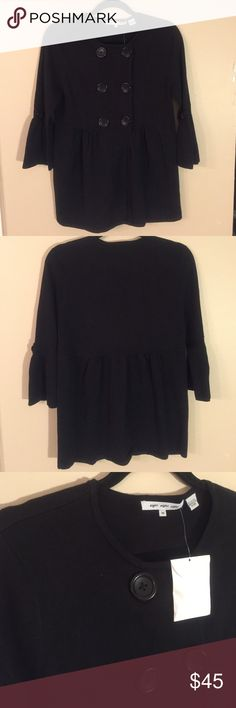 """EIGHT EIGHT EIGHT 3/4 Sleeve Cardigan NWT!! Cute 100% cotton knit cardigan that snaps up the front!  Laid flat chest measures 17"""", length from shoulder to hem is 27"""". eight eight eight Sweaters Cardigans"""