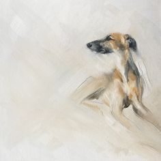 'Perdy' oil on canvas by Julie Brunn commissions available www.juliebrunn.co.uk