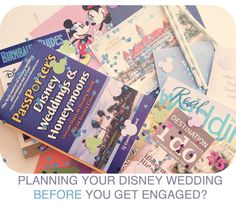 Planning your Disney wedding before you even get engaged even though I am engaged.but it will be awhile to the actual wedding Disney World Wedding, Disney Bride, Disney Weddings, Disney Diy, Disney Love, Wedding Dreams, Wedding Things, Wedding Stuff, Wedding Gifts