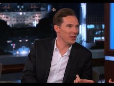 ▶ Benedict Cumberbatch on Jimmy Kimmel Live PART 1 - YouTube