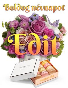 Share Pictures, Animated Gifs, Name Day, Floral Wreath, Names, Birthday, Decor, Art, Dekoration