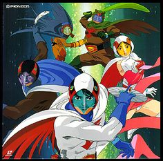 This is a picture of a Japanese show that use to come on around the 1970s and 1980s.(DML)