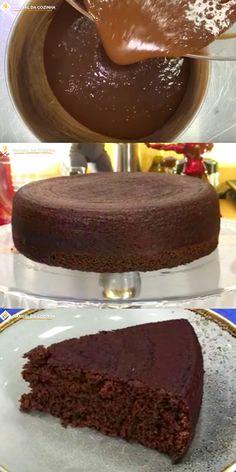 PÃO DE LÓ DE CHOCOLATE – MUITO FÁCIL – RECEITA CORINGA #paodelo #paodelodechocolate #cake #bolodechocolate #chocolate #receitacoringa #sobremesas #cozinha #receita #receitafacil #receitas #comida #food #manualdacozinha #aguanaboca #alexgranig