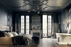 Парижская квартира – изящество неоклассики