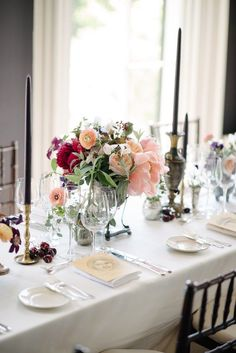Featured Photographer: Brian Hatton Photography; wedding centerpiece idea, click to see more wedding details