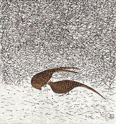 Yu Chengyou - Woodcut