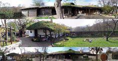 Trei imagini panoramice cu cele doua constructii aflate e proprietatea lui Dragos Iliescu