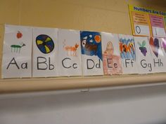 Literacy and Laughter - Celebrating Kindergarten children and the books they love: A New and Improved Alphabet!!