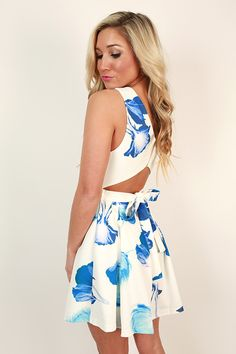 Little Italy Cut Out Dress