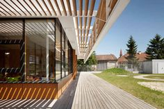 Neufeld an der Leitha Kindergarten by  Solid Architecture