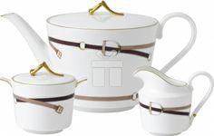 Set 3 piese ceai wedgwood equestria  #accesoriiceaiportelan #portelanenglezesc #ceainic #cadouridelux #cadourispeciale #cadourifemei Sugar Bowl, Bowl Set, Tea Pots, Tableware, Dinnerware, Tablewares, Tea Pot, Dishes, Place Settings